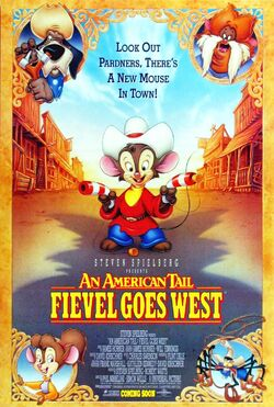 Universal's An American Tail - Fievel Goes West - Theatrical Poster