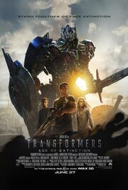 Transformers Age of Extinction-poster