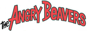 Nickelodeon's The Angry Beavers - TV Series Logo