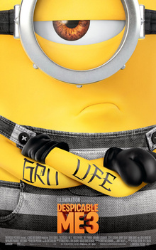 Despicable Me 3 (2017) Teaser Poster