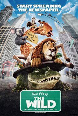 Disney's The Wild - 2005 Movie Poster