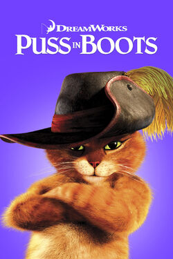 DreamWorks' Puss in Boots - iTunes Movie Poster