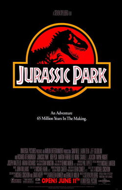 Universal's Jurassic Park - 1993 Theatrical Poster