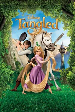 Disney's Tangled - iTunes Movie Poster