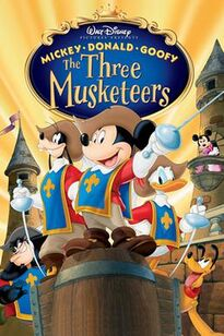 Mickey, Donald, Goofy - The Three Musketeers poster