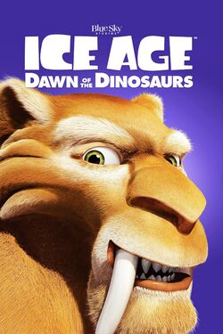 20th Century Fox and Blue Sky's Ice Age - Dawn of the Dinosaurs - iTunes Movie Poster