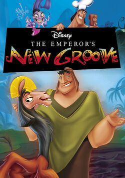 Disney's The Emperor's New Groove - iTunes Movie Poster