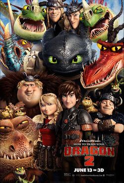 DreamWorks' How to Train Your Dragon 2 - Poster