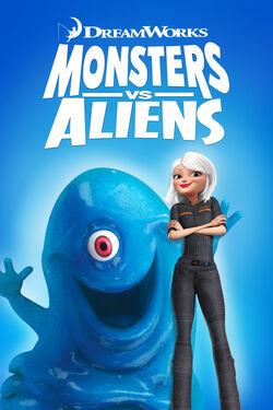 DreamWorks' Monsters vs. Aliens - iTunes Movie Poster
