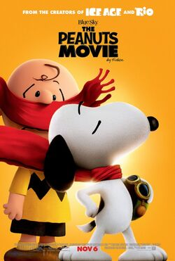 Blue Sky's The Peanuts Movie - Theatrical Poster