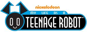 Nickelodeon's My Life as a Teenage Robot - TV Series Logo