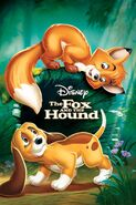 Disney's The Fox and the Hound - DVD Cover Poster