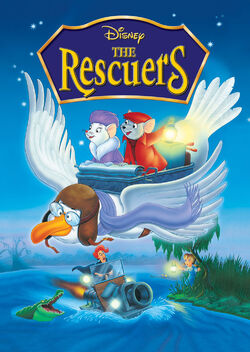 Disney's The Rescuers - iTunes Movie Poster