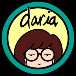 MTV's Daria - TV Series Logo