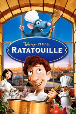Disney and Pixar's Ratatouille - iTunes Movie Poster