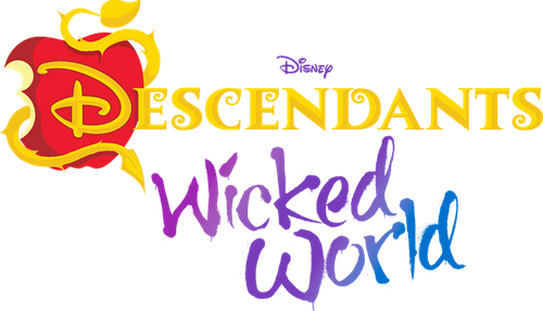 Amazing File:Disneyu0027s Descendants Wicked World   Transparent Logo.png