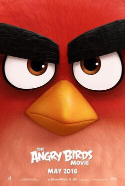 The Angry Birds Movie - Teaser Poster