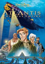 Disney's Atlantis The Lost Empire - DVD Cover