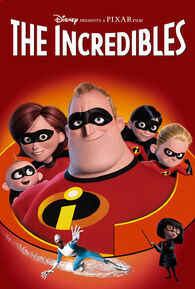 Disney and Pixar's The Incredibles - iTunes Movie Poster