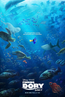 Disney and Pixar's Finding Dory - Theatrical Poster