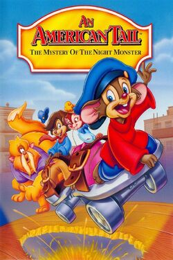 Universal's An American Tail - The Mystery of the Night Monster - Cover