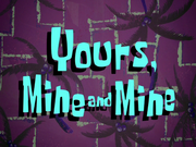 Yours,MineandMinetitlecard