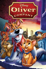 Disney's Oliver and Company - iTunes Movie Poster