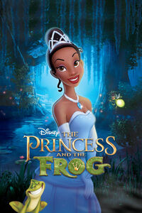 Disney's The Princess and the Frog - Re-release Movie Poster