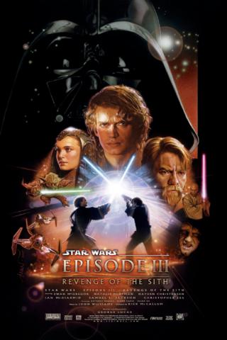 Star Wars Girls Revenge of The Sith Opening Crawl Sweatshirt