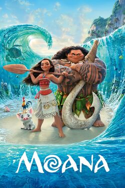 Disney's Moana - iTunes Movie Poster