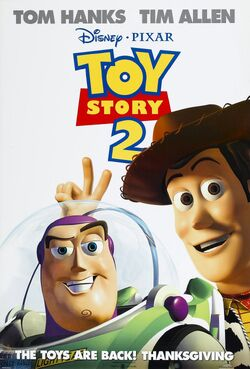 Disney and Pixar's Toy Story 2 - iTunes Movie Poster