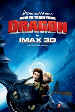 DreamWorks' How to Train Your Dragon - IMAX Poster