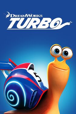 DreamWorks' Turbo - iTunes Movie Poster