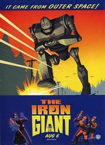 The Iron Giant poster