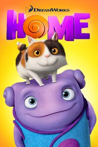 DreamWorks' Home - iTunes Movie Poster