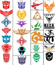 Transformers Symbols CR universe