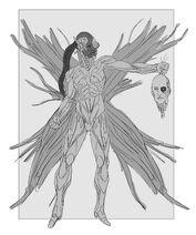 Cyborg Goddess Sketch 2