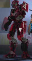 Wrecker Red