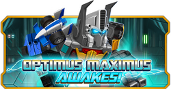 Optimus Maximus Awakes!