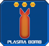 A plasma bomb