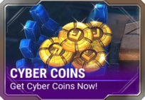 Ui build cyber coins d