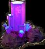 Crystal free