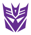 Decepticon logo 1 color