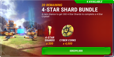 Bundle event windfall 20160709 - 4-star shards