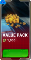 Ui cybercoins pack value blank