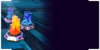 Bundle event mixed crystal a background
