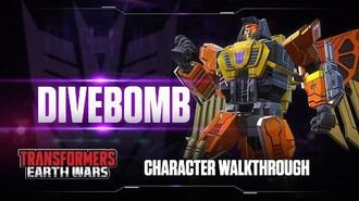 Character Walkthrough DIVEBOMB - Transformers Earth Wars DOWNLOAD now!