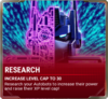 Ui research level cap 30