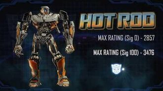 Bot Showcase - Hot Rod Transformers Forged to Fight