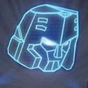 Silver Megatron Relic G1 Icon